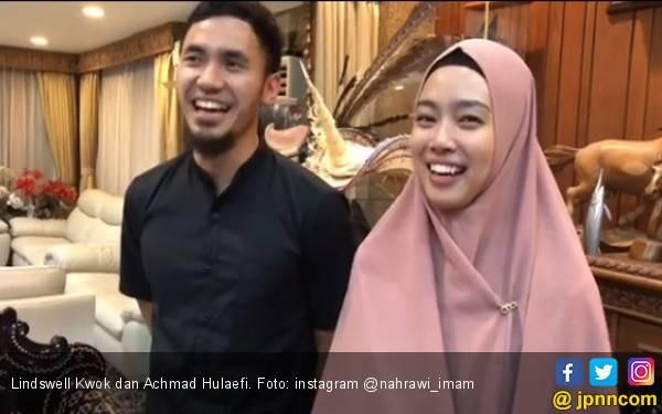 PB Wushu Terima Undangan Pernikahan Hulaefi & Lindswell Kwok - JPNN.com