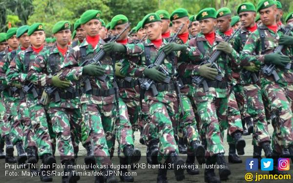 TNI dan Polri Tambah Pasukan, Lewat Darat dan Udara - JPNN.com