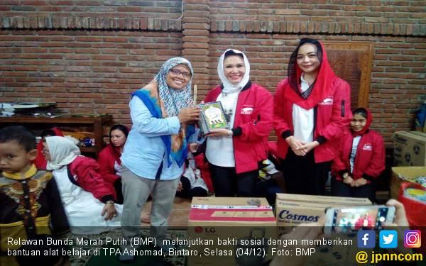 Ya Maulana Sabyan Iringi Baksos BMP di TPA Ashomad Bintaro - JPNN.com