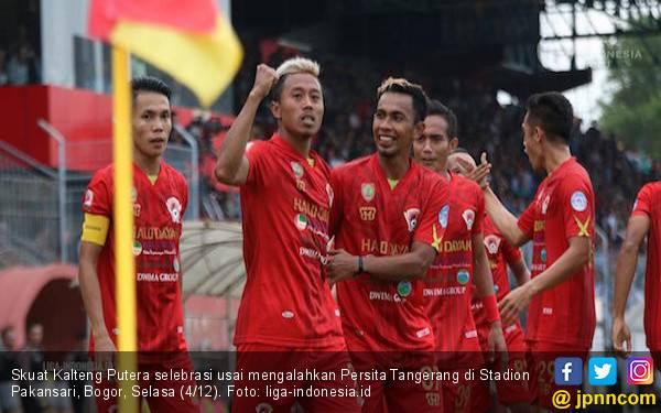 Diwarnai Kericuhan, Kalteng Putra Promosi Ke Liga 1 2019 - JPNN.com
