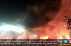 Lihat Nih! Totalitas Suporter PSS Sleman di Pakansari - JPNN.com