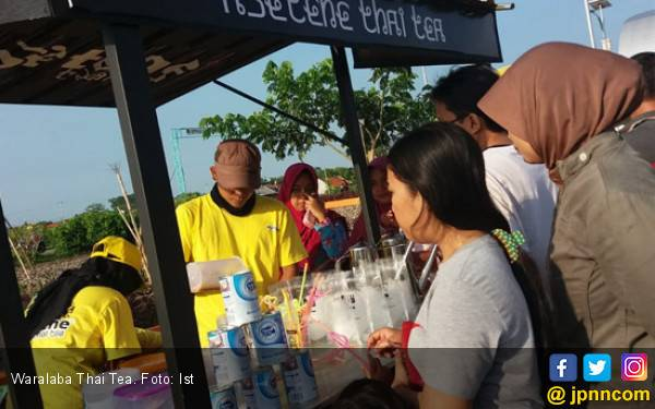 Usaha Waralaba Thai Tea Asetehe Cuma Modal 3 Jutaan Rupiah - JPNN.com