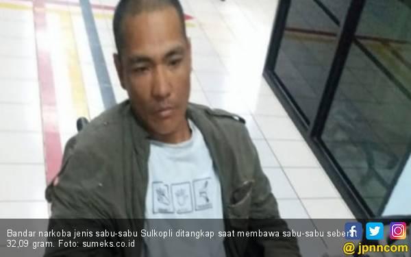 Coba Melarikan Diri, Bandar Narkoba Ambruk Ditembak Polisi - JPNN.com