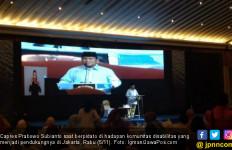 Peace, Prabowo Larang Pendukungnya Teriakkan Kata Cebong - JPNN.com