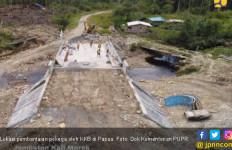 Ini Mekanisme Prajurit TNI Kawal Pekerja Proyek Jembatan - JPNN.com