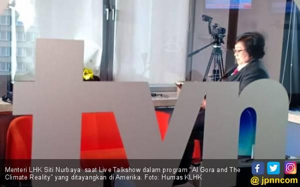 Live Talkshow Media Internasional dan Menteri Siti di COP24 - JPNN.com