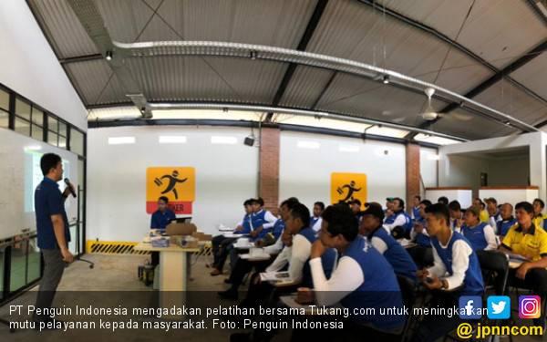 Manjakan Konsumen, Penguin Indonesia Gandeng Tukang.com - JPNN.com