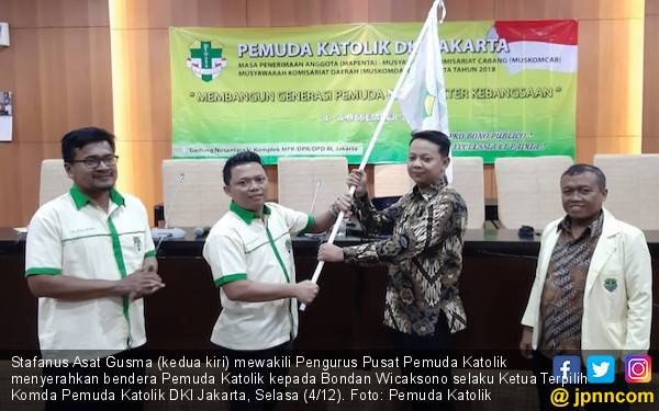 Bondan Resmi Terpilih Sebagai Ketua Komda Pemuda Katolik DKI - JPNN.com