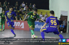 Tumbangkan UNJ, UBL Juara LIMA Futsal Jakarta Raya - JPNN.com