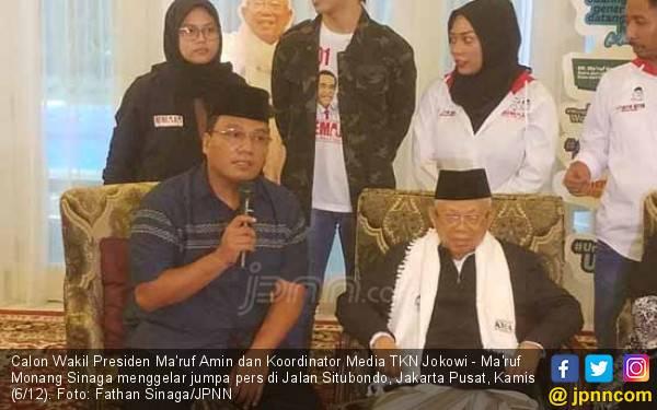 Penjelasan Kiai Ma'ruf Amin soal Badan Makin Kurus - JPNN.com