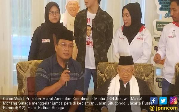 Bantah Isu Jatuh Sakit, Ma'ruf Amin: Saya Baik-baik Saja - JPNN.com