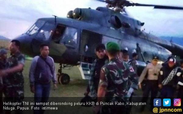 Kontak Senjata dengan KKB, TNI - Polri Kuasai Puncak Kabo - JPNN.com