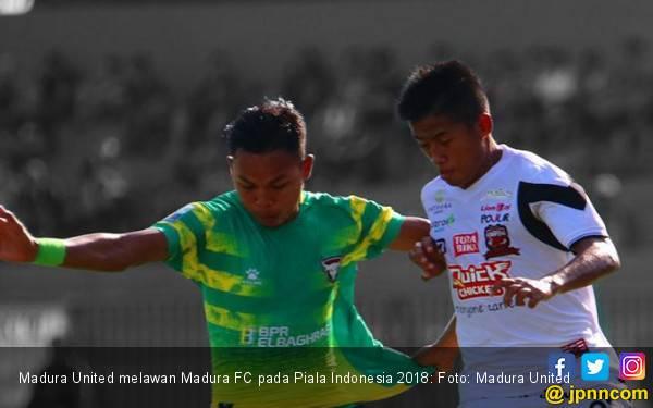 Piala Indonesia 2018: Madura United Hancurkan Madura FC - JPNN.com