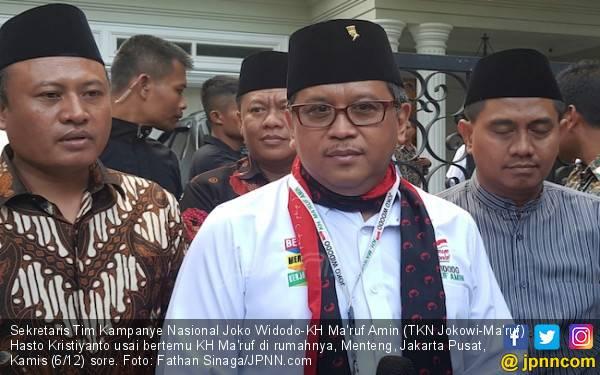 Kinerja Kian Positif, TKN Jokowi-Ma'ruf Gelar ToT untuk TKD - JPNN.com