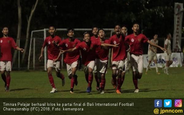 Mantap, Timnas Pelajar Lolos ke Final Bali IFC 2018 - JPNN.com