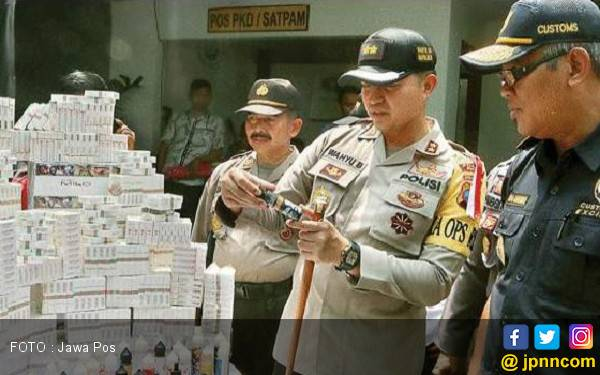 Wow, Ratusan Ribu Batang Rokok Dimusnahkan - JPNN.com