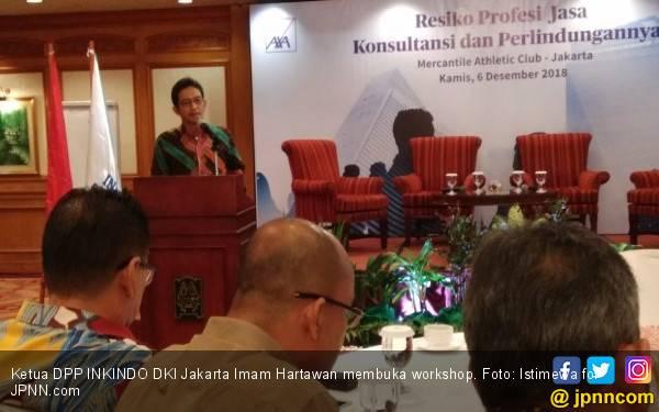 INKINDO DKI Berupaya Kurangi Risiko Hukum untuk Konsultan - JPNN.com