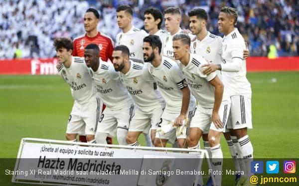 Unggul 10-1 dari Melilla, Real Madrid Lolos ke 16 Besar - JPNN.com