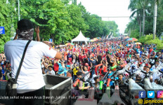 15 Ribu Warga Bojonegoro Hadiri Jalan Sehat Relawan Jokowi - JPNN.com