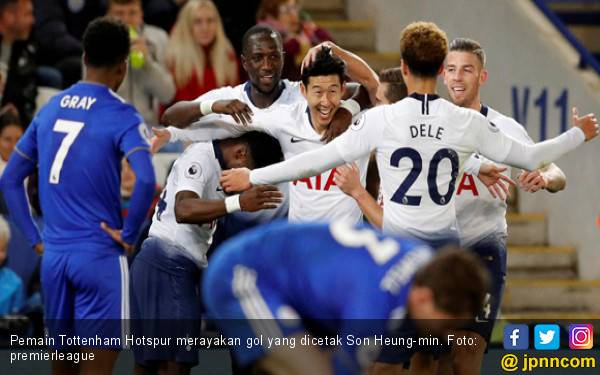 Libas Leicester, Tottenham Hotspur Gusur Chelsea dan Arsenal - JPNN.com