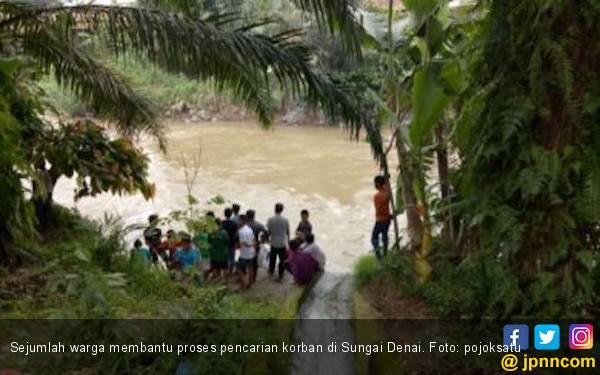 Tragis, Bocah 7 Tahun Terpeleset dan Hanyut di Sungai Denai - JPNN.com