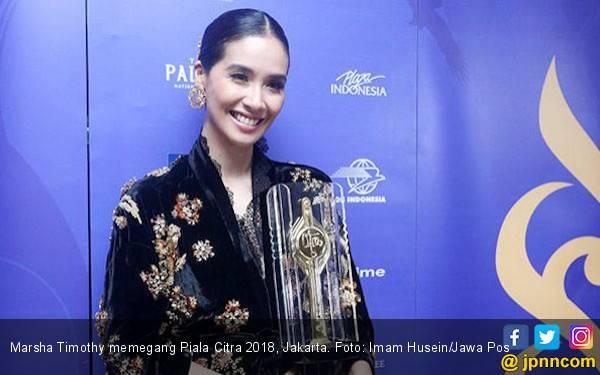Menang di FFI 2018, Marsha Timothy: Ini Penghargaan Terakhir - JPNN.com