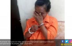 Menangis, Susilawati Bilang Mencintai Pria Pembunuh Suaminya - JPNN.com