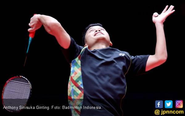 Pamer Smes, Ginting Lewati Ujian di Babak Pertama Indonesia Masters - JPNN.com