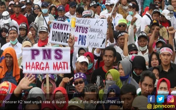PPPK Diberlakukan, Tenaga Honorer Otomatis Dihapuskan - JPNN.com