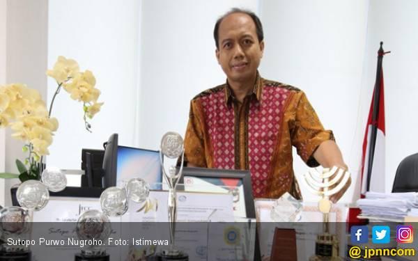 Pak Sutopo BNPB Raih The Most Inspirational ASN 2018 - JPNN.com