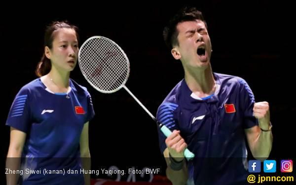 Zheng Siwei / Huang Yaqiong Pukul 2 Bule Inggris - JPNN.com