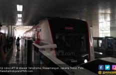 LRT Jakarta Bisa Angkut 14 Ribu Penumpang Per Hari - JPNN.com