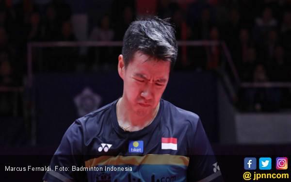 Kevin Sanjaya sih Mau Main, tapi Leher Marcus Fernaldi.. - JPNN.com