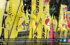 Bendera Golkar Dominasi Panggung Jokowi di Riau - JPNN.com