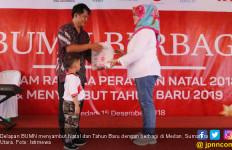 Sambut Nataru, Pelni Salurkan Bantuan di Medan - JPNN.com