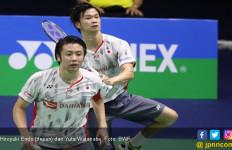 Endo/Watanabe Menangi Derbi Jepang di Grup Panas BWF World Tour Finals 2019 - JPNN.com