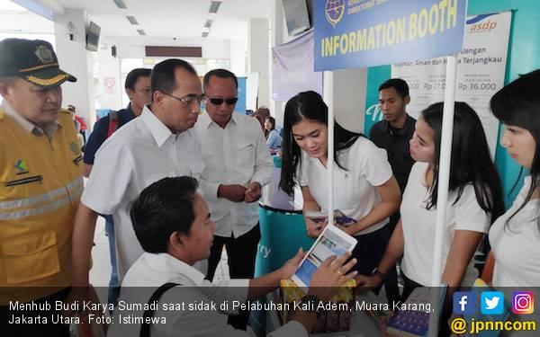 Jelang Libur Nataru, Menhub Sidak ke Pelabuhan Kali Adem - JPNN.com