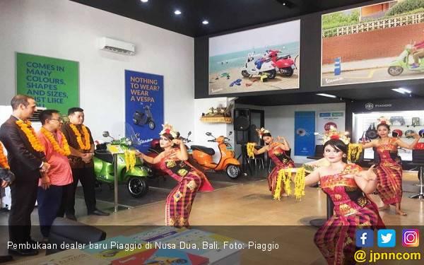 Dealer Baru Piaggio Sampai ke Nusa Dua Bali - JPNN.com