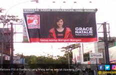 Baru Sehari Dipasang, Reklame PSI di Bantaeng Lenyap - JPNN.com