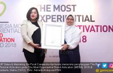Go-Food Sabet The Best Tactical Activation pada MEBA 2018 - JPNN.com