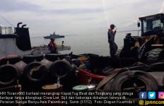 KRI Torani-860 Tangkap Kapal Tug Boat Tanpa Crew List - JPNN.com