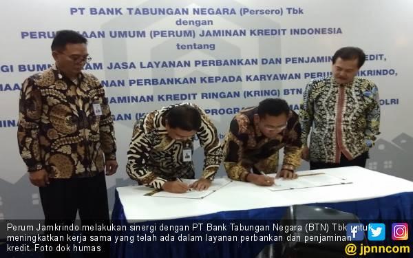 2019, Debitur KTA BTN Dapat Jaminan Kredit dari Jamkrindo - JPNN.com