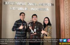 Kementan Kembali Diganjar Anugerah Parahita Ekapraya 2018 - JPNN.com