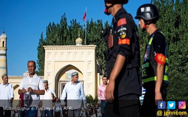 Amerika Jatuhkan Sanksi terkait Persekusi Muslim Uighur, Tiongkok Bereaksi Keras - JPNN.com