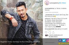 Unggah Tulisan Berbahasa Arab, Denny Sumargo Mualaf? - JPNN.com