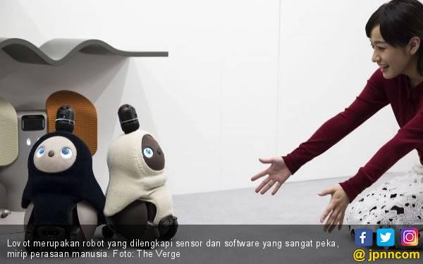 Lovot, si Robot yang Punya Rasa Cinta, Harganya? Hmmm - JPNN.com