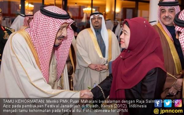 Pujian untuk Pidato Mbak Puan di Depan Raja Salman - JPNN.com
