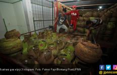 Tempat Penyimpanan Tabung Gas Elpiji Ilegal Digerebek - JPNN.com