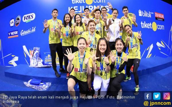 PB Jaya Raya Juara Kejurnas PBSI 2018 - JPNN.com