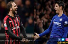 Gonzalo Higuain ke Chelsea, Alvaro Morata ke AC Milan - JPNN.com